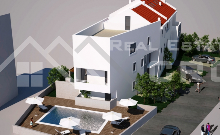 Apartments under construction, for sale, Strozanac