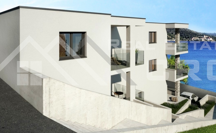Apartments in the first line to the sea for sale, Rogoznica