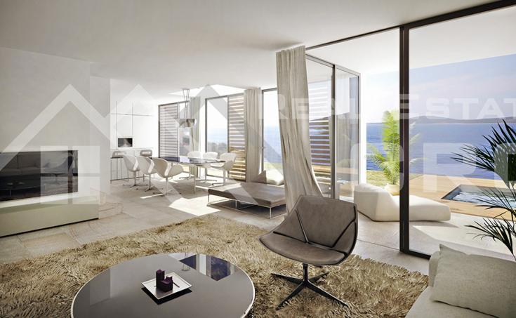 Luxurious villas under construction, for sale, Vinisce