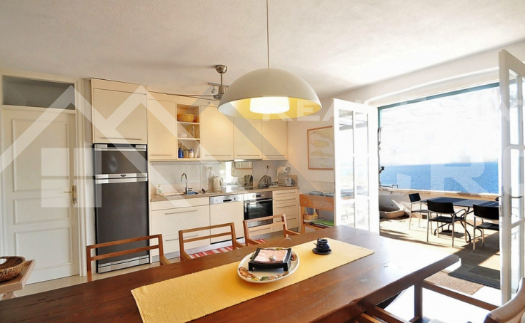 Villa in the first line to the sea for sale, Brac island