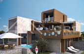 KO306, Luxurious villa under construction, for sale, seafront, Korcula island