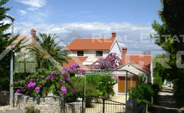 Detached house with beautiful garden and seaview for sale, Brac (2)