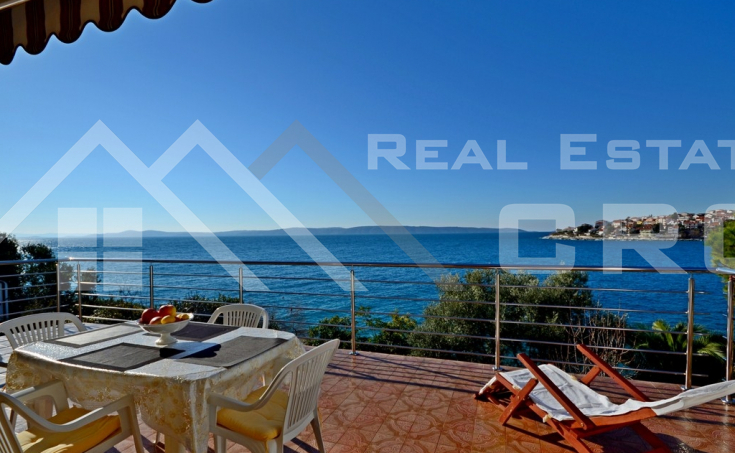 Property for sale on one of the most beautiful locations on Ciovo island, 1st row by the sea