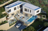 CI219, Deluxe modern villa with breathtaking sea view and pool for sale, Ciovo