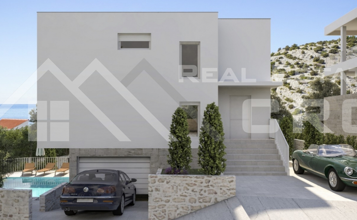 Villa with pool for sale, very attractive location, Rogoznica (4)