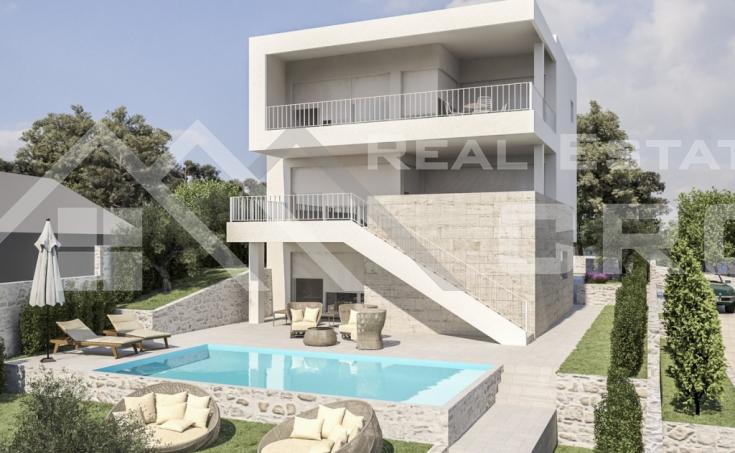 Villa with pool for sale, very attractive location, Rogoznica (8)