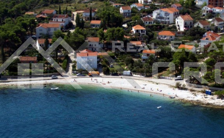 Building plot with spectacular sea view in Sutivan on the island of Brac