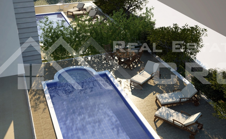 Newly built apartments for sale, Okrug Gornji, Ciovo island (10)