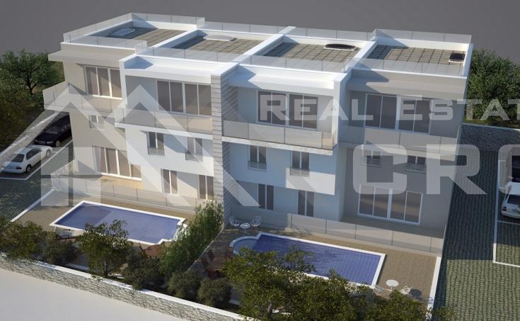 Newly built apartments for sale, Okrug Gornji, Ciovo island (4)