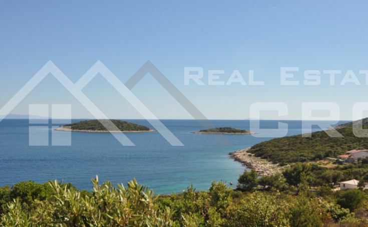 House in the first row to the sea for sale, vicinity of Rogoznica (3)