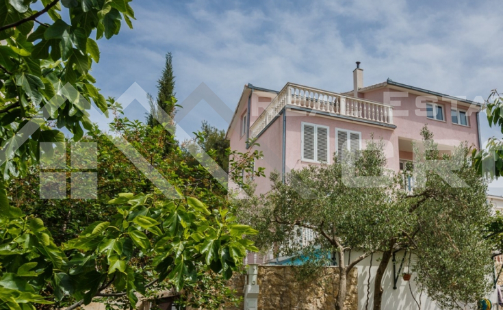 Detached house with a beautiful sea view for sale, Ciovo Island (8)