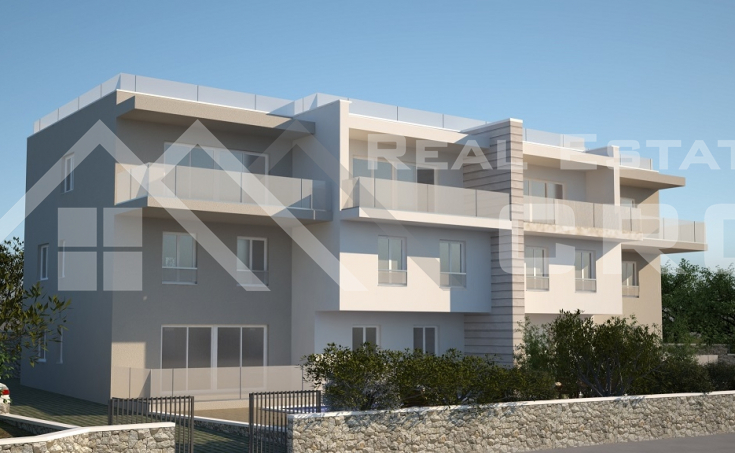 Newly-built apartments with sea view for sale, Okrug Gornji, Ciovo Island (1)