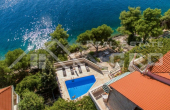 Villa in the first row to the sea for sale, Brac Island (2)