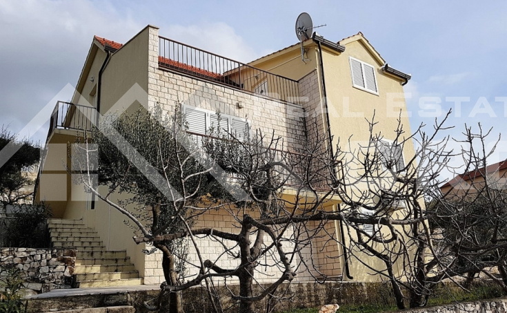 Detached house with amazing sea view for sale, Rogoznica