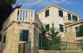 BR452, Detached house on an extremely atrractive location, for sale, Splitska, Brac island