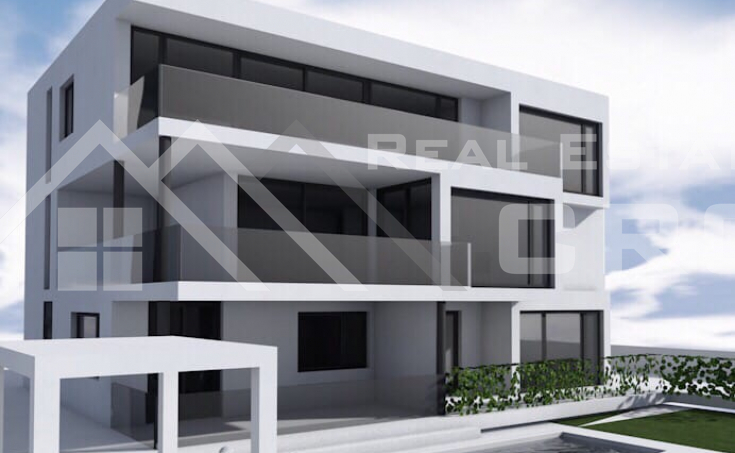 Modern design apartment under construction on Ciovo island, for sale (1)