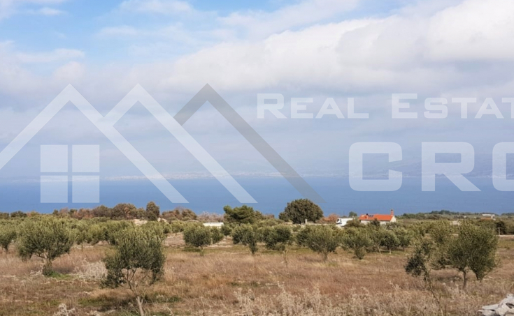 Farmland with a superb sea view for sale, Supetar (2)