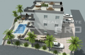 Apartments under construction with beautiful sea view for sale, Ciovo Island (1)