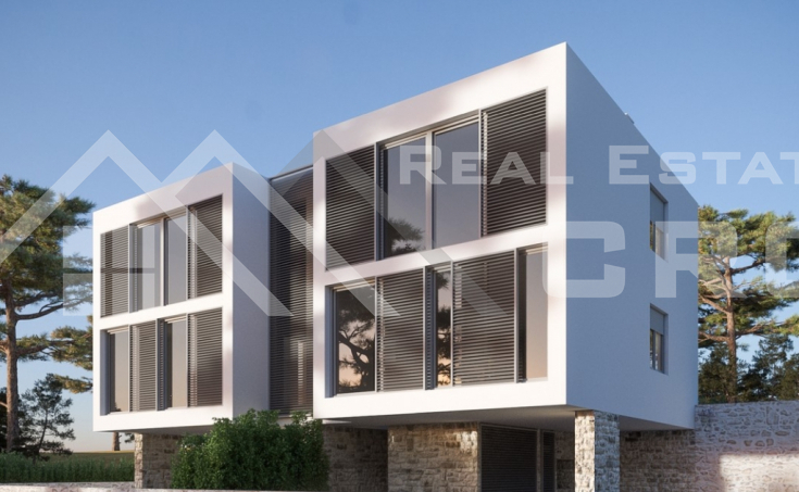 Semi-detached object under construction for sale, Zaboric