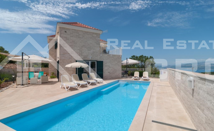 Two fantastic villas with sea view for sale, Brac Island (5)