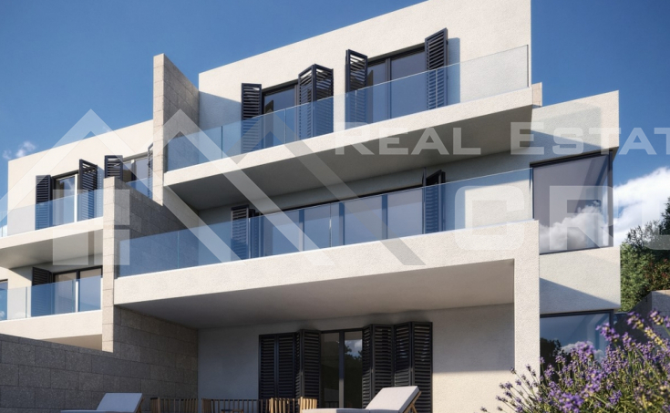 Two luxurious semi-detached houses with sea view for sale, Rogoznica (2)