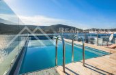 Newly built villa in the first row to the sea for sale, Trogir (2)