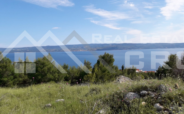 Building land with beautiful sea view for sale, Jesenice (1)