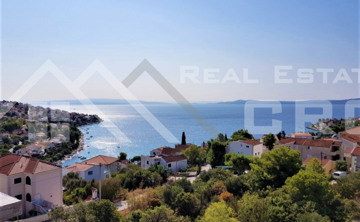 Apartments under construction with beautiful sea view for sale, Ciovo Island