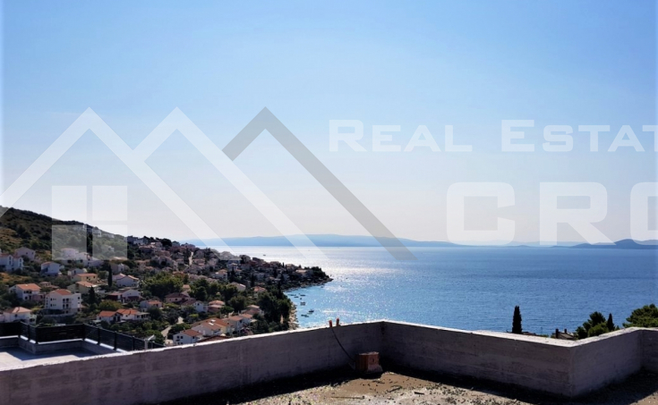 Apartments under construction with beautiful sea view for sale, Ciovo Island (4)
