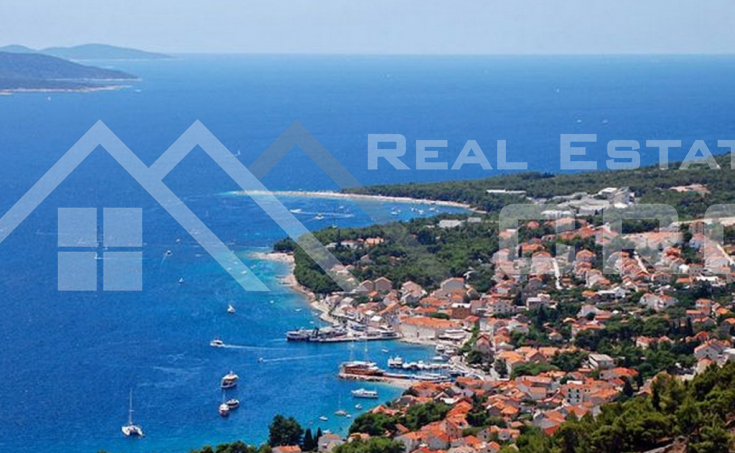 Farmland with object on it and beautiful sea view, Brac Island, Bol (3)