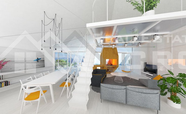 Modern villa under construction with extraordinary sea view, Brac Island, Sutivan (22)