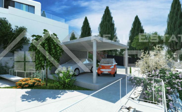 Modern villa under construction with extraordinary sea view, Brac Island, Sutivan (24)