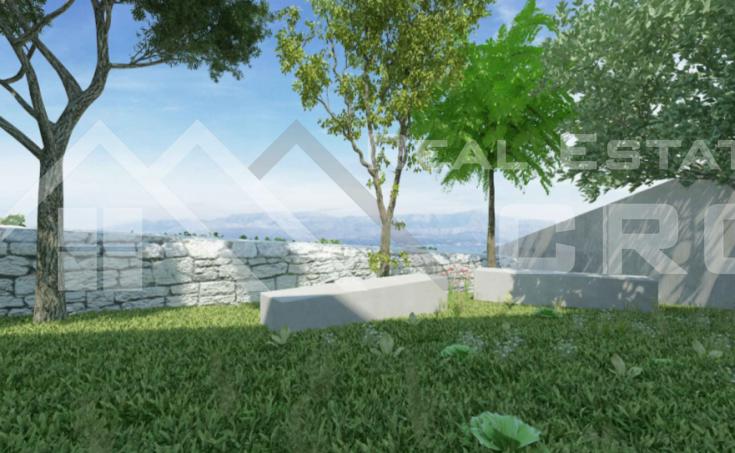 Modern villa under construction with extraordinary sea view, Brac Island, Sutivan (45)