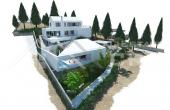 Modern villa under construction with extraordinary sea view, Brac Island, Sutivan (2)