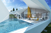 Modern villa under construction with extraordinary sea view, Brac Island, Sutivan (6)