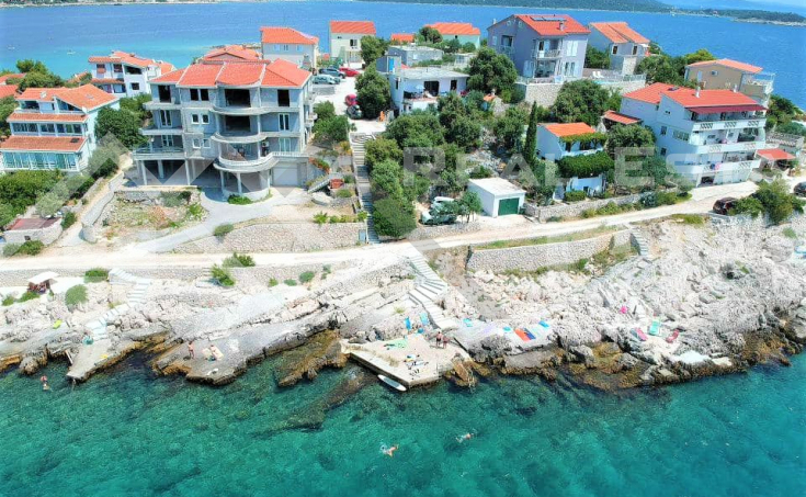 House with stunning sea view for sale, vicinity of Rogoznica