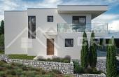 Moderna vila s bazenom u izgradnji na prodaju, Rogoznica (4)