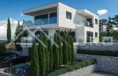 Moderna vila s bazenom u izgradnji na prodaju, Rogoznica (6)