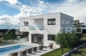 Moderna vila s bazenom u izgradnji na prodaju, Rogoznica (9)