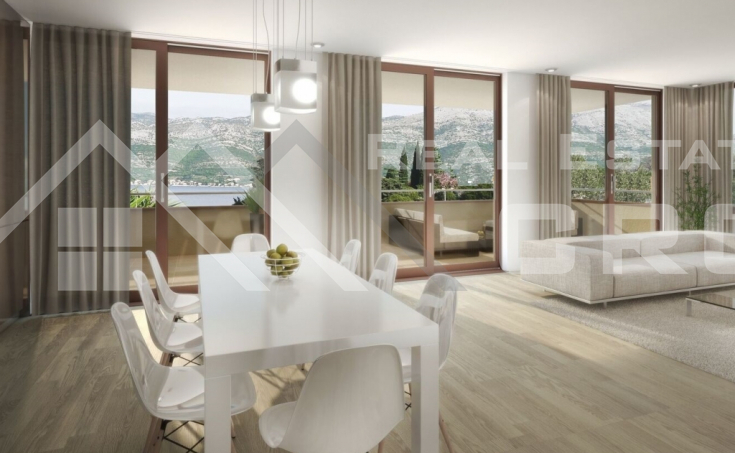 Luxurious apartments on the seafront, for sale, Korcula island