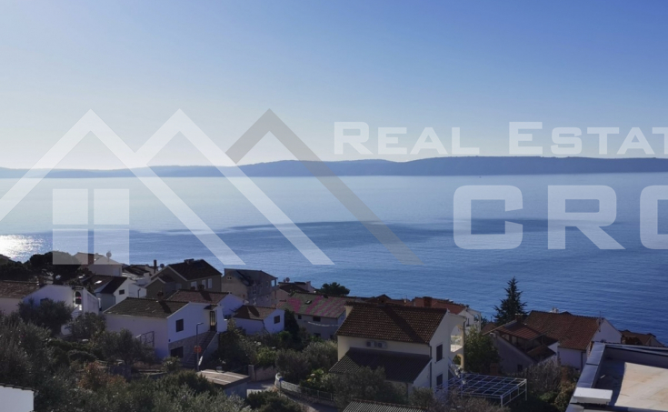 Modern villa with pool and beautiful sea view, island Ciovo, on sale
