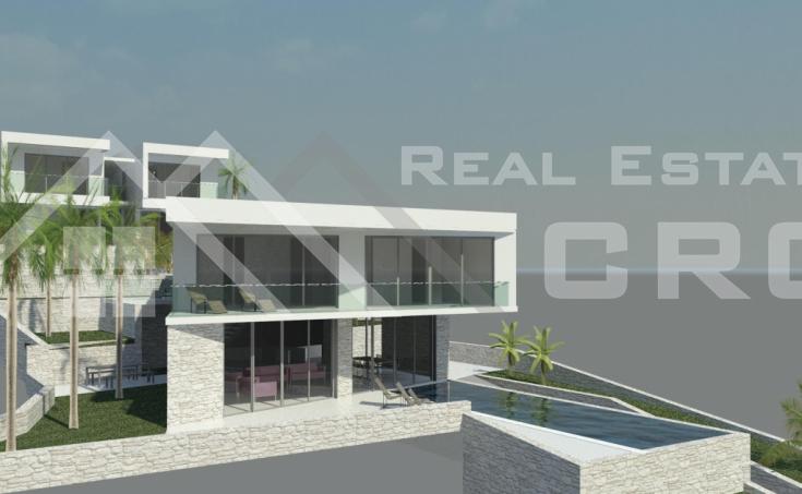 Moderna vila s prekrasnim pogledom na more i bazenom na prodaju, Čiovo (3)