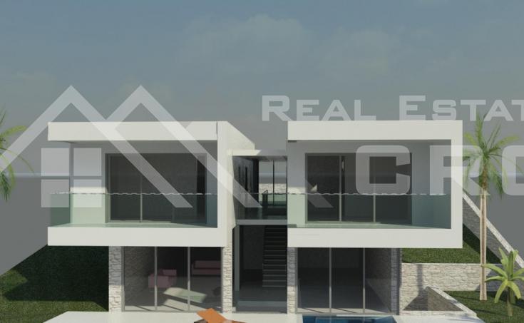 Moderna vila s prekrasnim pogledom na more i bazenom na prodaju, Čiovo (4)