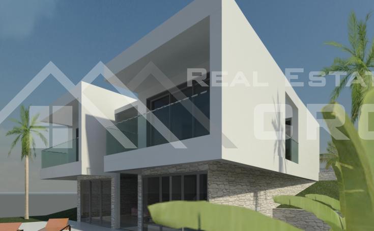 Moderna vila s prekrasnim pogledom na more i bazenom na prodaju, Čiovo (5)