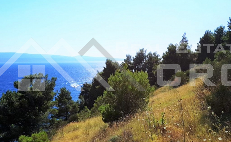 Front row building land on Omis riviera, for sale (2)