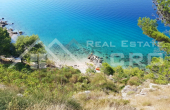 OM678, Front row building land on Omis riviera, for sale