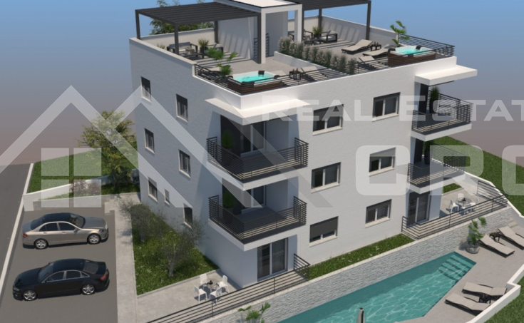 Two-bedroom apartments on Ciovo isand, for sale