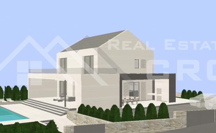 Kuća s bazenom i pogledom na more na prodaju, u blizini Milne, Brač (6)