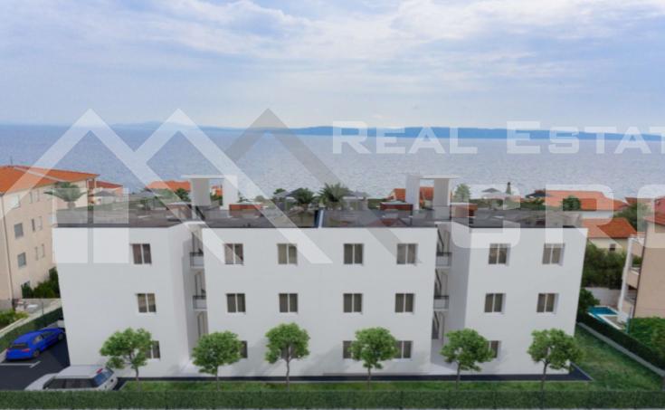 Moderni stanovi u izgradnji udaljeni oko 100m od mora, Čiovo jug, na prodaju (1)