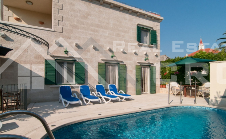 Villa with swimming pool and amazing sea view for sale, Brac Island